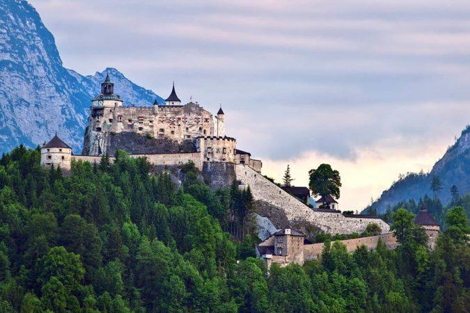 Burg Hohenwerfen - Ausflugsziel Salzburger Land