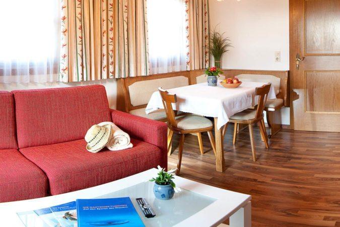 Wohnbereich - Ferienwohnung in Bad Hofgastein - Tofererhof
