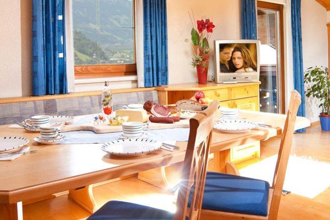 Wohnbereich - Ferienwohnung in Gastein - Bauernhof Tofererhof