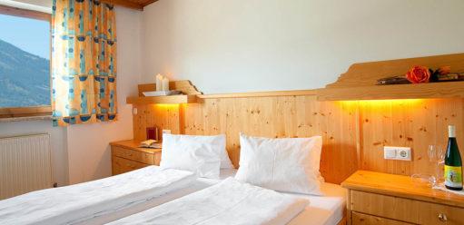 Schlafzimmer - Ferienwohnung im Salzburger Land - Bauernhof Tofererhof