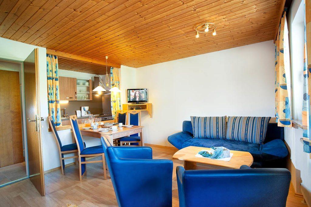 Wohnbereich - Ferienwohnung im Salzburger Land - Bauernhof Tofererhof
