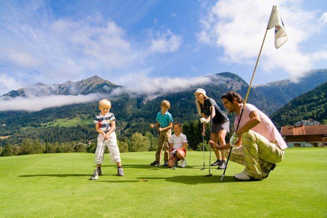 Golfen mit der Familie in Gastein - Tofererhof