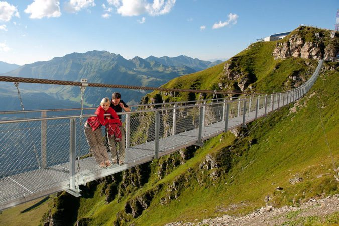Hängebrücke Gastein - Ausflugsziel Salzburger Land