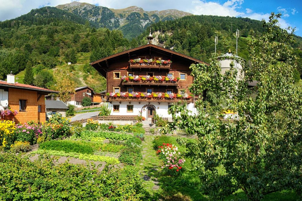 Garten - Impressionen vom Bauernhof Tofererhof, Bad Hofgastein