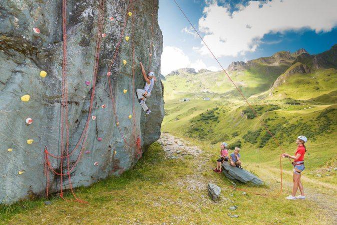 Klettern für die ganze Familie - Tofererhof