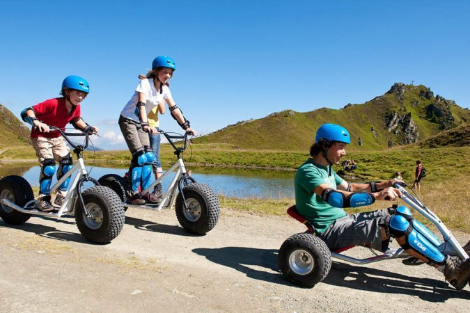 Monsterroller & Mountainkart fahren in Gastein - Tofererhof